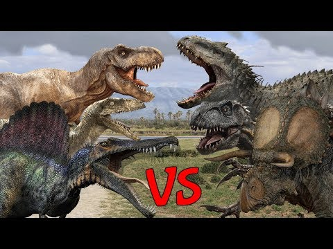 Dinosaur Deathmatch Battle 2   SPORE thumbnail