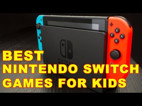 Top 8 Best Nintendo Switch Games For Kids (2017)