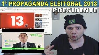 Reaction e análise: 1ª Propaganda eleitoral 2018 - Bolsonaro, Alckmin, Marina, Ciro,