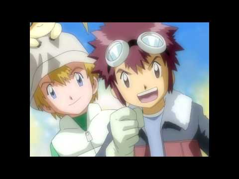 Digimon Adventure 02 - Target~Akai Shougeki~(Boys Version)