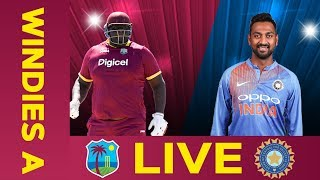 ????LIVE West Indies A v India A 3rd ODI | India Tour Of West Indies