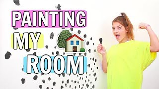 Painting my wall! Summer room EP. 1