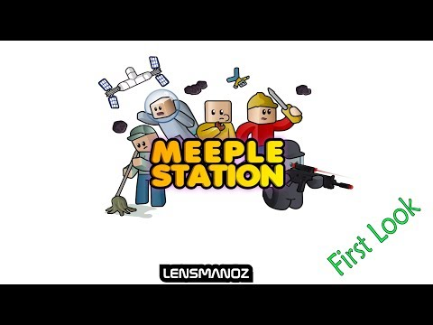 Meeple Station - First Look - Early Alpha |