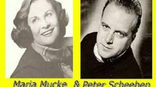 Mein Herz geht auf die Reise - Maria Mucke und Peter Scheeben (1950)
