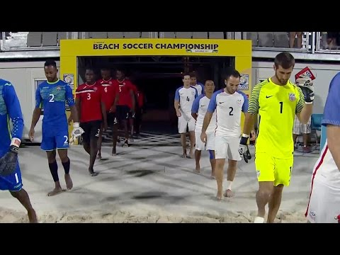 Beach National Team vs. Trinidad & Tobago: Highlights - Feb. 23, 2017