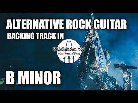 Alternative Rock Guitar Backing Track In B Major (U2 Style)