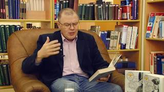 Александр Кердан читает отрывок романа ''Звёздная метка'' в Библиотеке Белинского