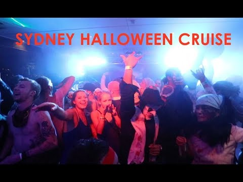 Sydney Halloween Boat Party - Magique Halloween Circus