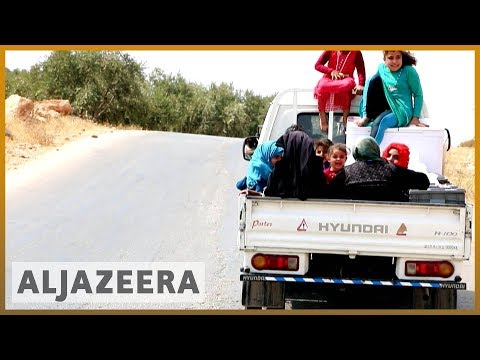 🇸🇾 Syrians flee the Idlib offensive | Al Jazeera English