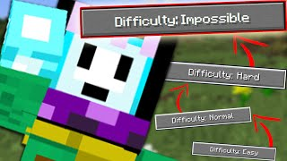 Minecraft level IMPOSSIBLE! (Minecraft Indonesia)