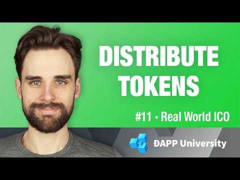 Create Token Distribution with Smart Contracts - #11 Real Wo