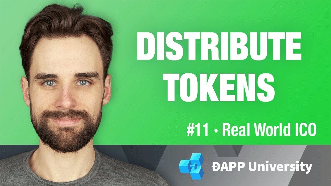Create Token Distribution with Smart Contracts - #11 Real World ICO on Ethereum
