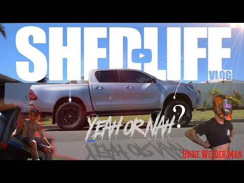 #SHEDLIFE  -  2018 HILUX LIFT KIT &  the New CHEVY
