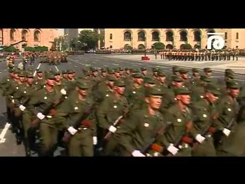 Armenia Российские солдаты на параде в Ереване