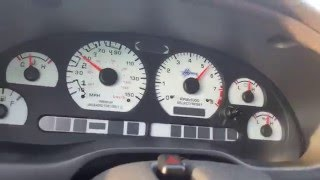 02 mustang GT Stage 1 XE262AH comp cams 1st to 2nd gear pull