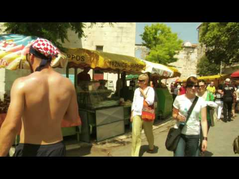 Open Air Market- Split, Croatia, Davidsbeenhere.com