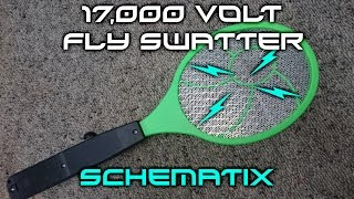 How Supercharge Electric Fly Swatter 17k Volts