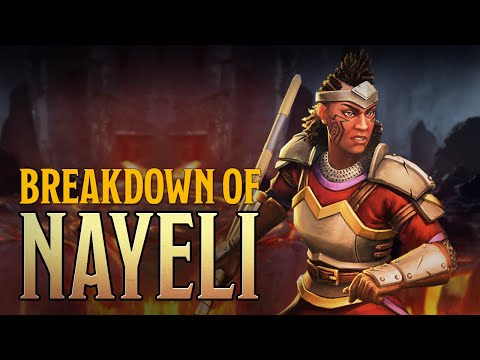 Warriors Of Waterdeep - Dungeons & Dragons | Nayeli Goldflower -  Breakdown