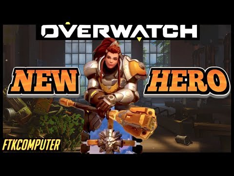 The World's First Golden-Mace Brigitte! (Skins, Gameplay, and More)