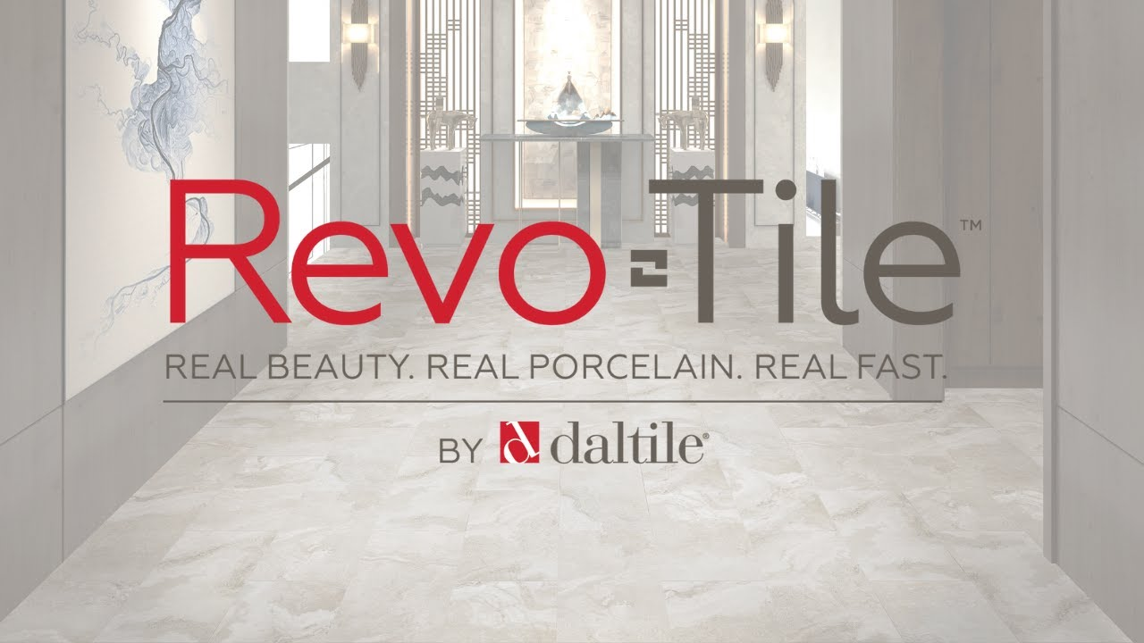 RevoTile by Daltile takes the mess out of tiling