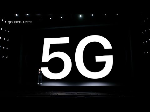 Apple Event Ceo Tim Cook Says 5g Brings New Era To Iphone Youtube