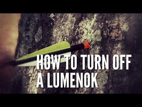 How To Turn Off a Lumenok