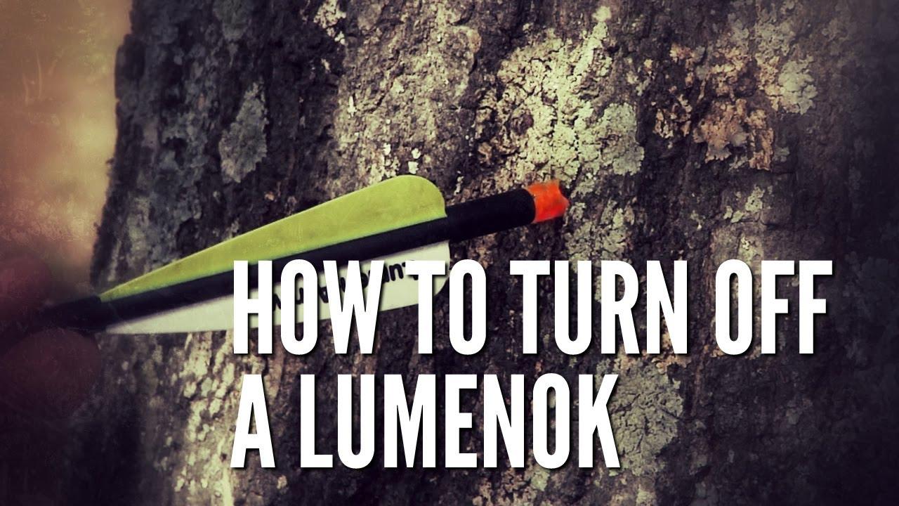 How To Turn Off A Lumenok Youtube