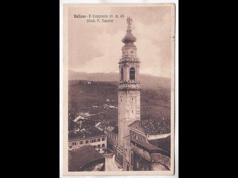 FAI le Dolomiti - Il Campanile del Duomo di Belluno opera di Filippo Juvarra