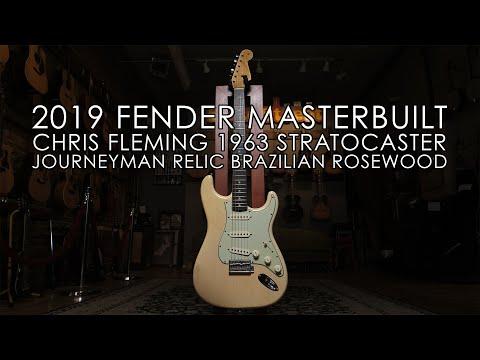 """""""Pick of the Day""""  2019 Fender Chris Fleming Masterbuilt Stratocaster"""