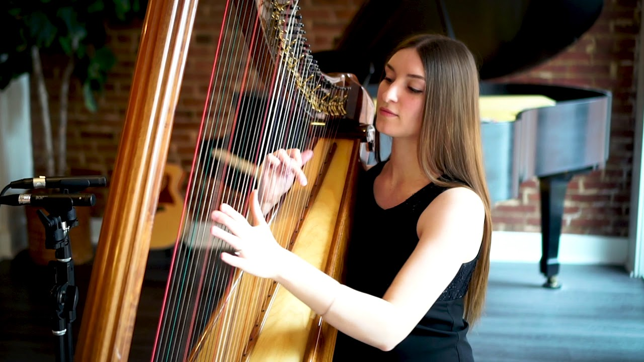 "Harpist - ""River Flows"" 