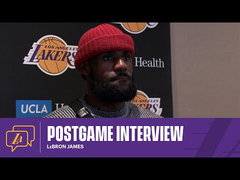 Lakers Postgame: LeBron James (2/24/21)