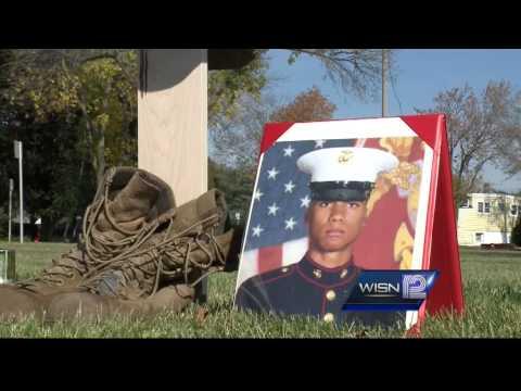 Milwaukee Marine remembered at Hamilton High School