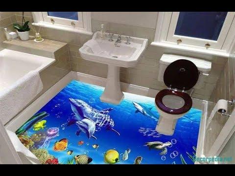 New 100 3d Bathroom Floor And 3d Floor Art Murals