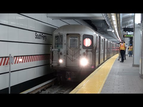 ⁴ᴷ First Train to New South Ferry Terminal