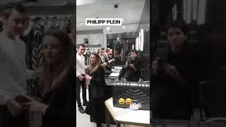 Philipp Plein- On Duty Prank Budapest (Funny)