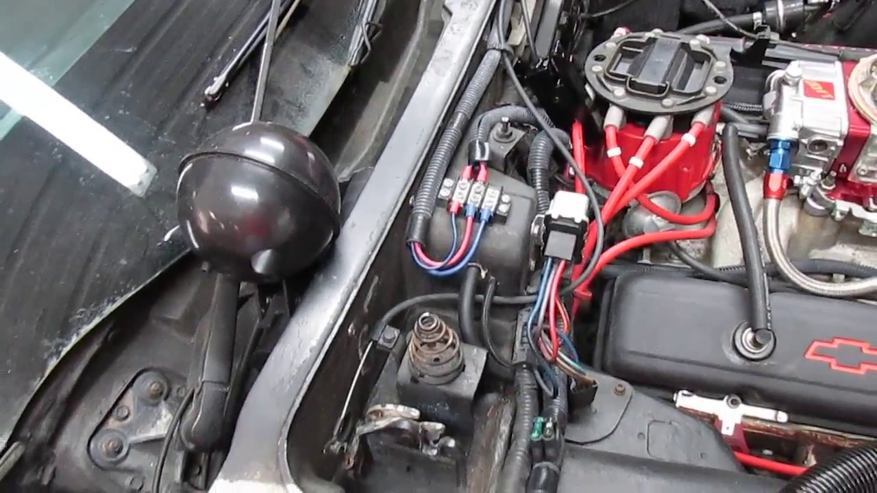 Ac Idle Pensation Solenoid For C3 Corvette Youtube. Ac Idle Pensation Solenoid For C3 Corvette. Corvette. 1980 Corvette Air Conditioning Wiring At Scoala.co