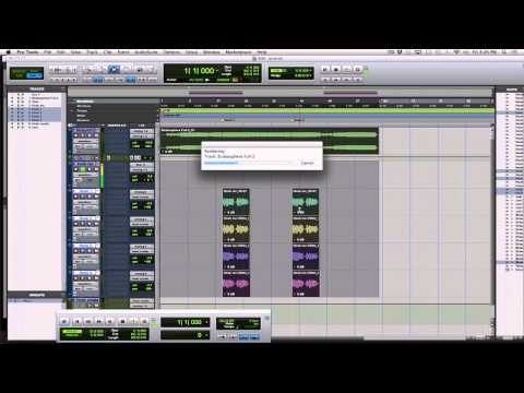 How to Export Pro Tools tracks as WAV's for another DAW