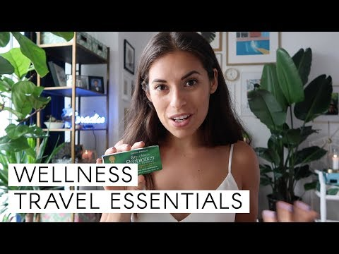 Wellness Travel Essentials // How to pack good vibes in your carry-on