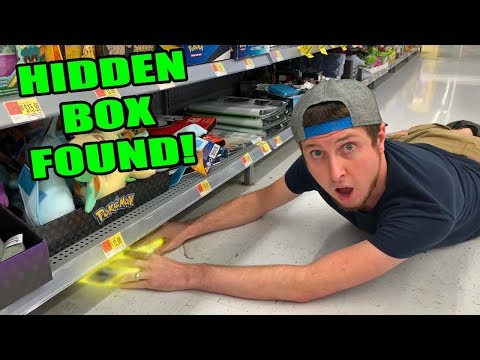 EXPLORING FOR HIDDEN POKEMON CARD PACKS AROUND THE STORE! Opening #53