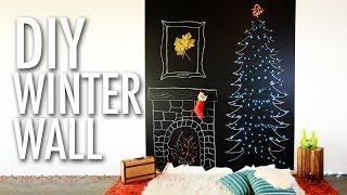 DIY Winter Wall