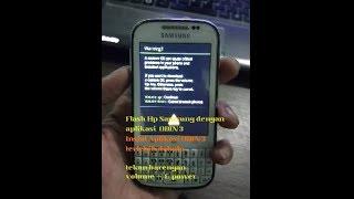 Cara Flash Samsung Galaxy Chat B5530.