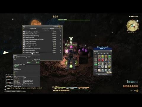Mining Around! FFXIV Fredryk Hax Live Stream