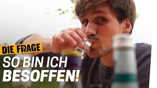 Sauf-Experiment: Wie verändert mich Alkohol? | Saufen wir zu viel? Folge 1