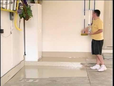 Epoxy Coat Application Instruction Youtube