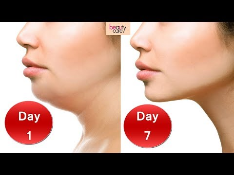 3 Easy Face Exercises for Double Chin Removal and Wrinkles in Hindi (Results in 7 days!)