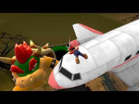 Mario Vs Bowser remake in sfm