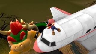 Bowser wants to rescue Mario