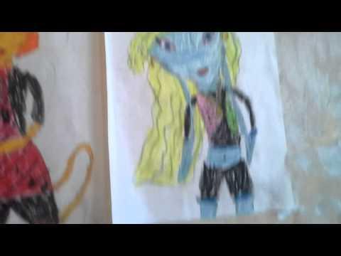 Мои рисунки монстер хай