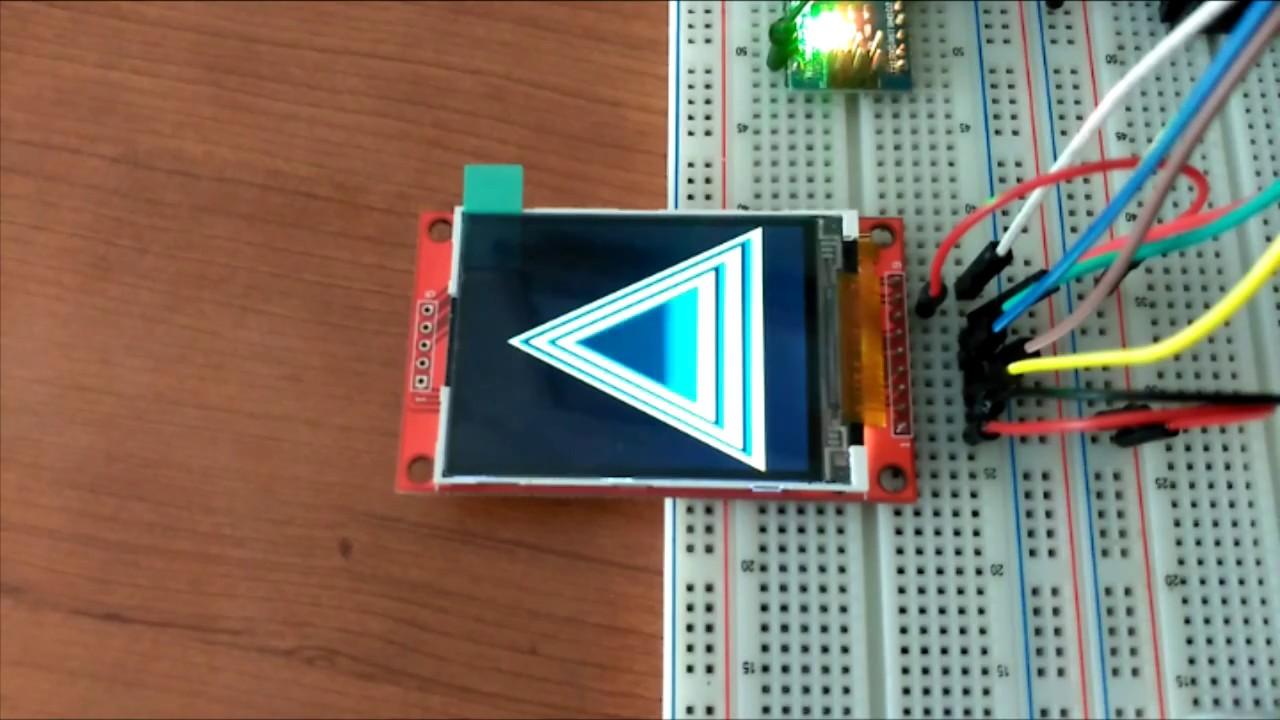 Arduino + ILI9341 TFT + CD4050