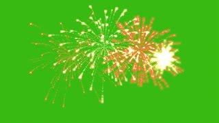 Fireworks green screen effect pack 4. Футаж Салют & Фейерверк